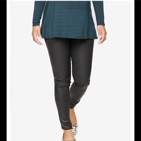 6696b396c85a8 DL1961 Jeans | Dl 1961 Maternity Black Wax Coated Skinny | Poshmark